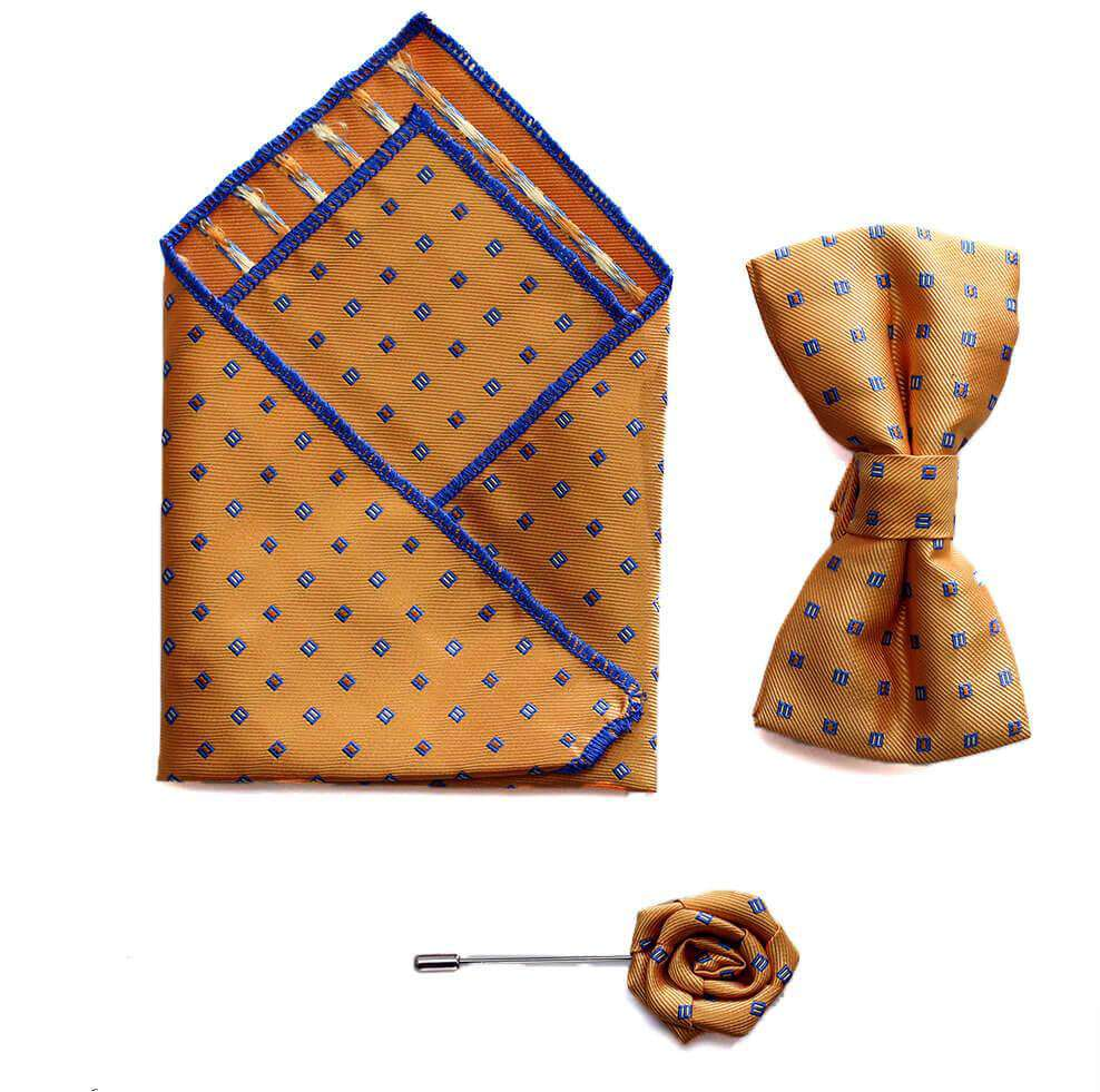 Bow/Pin and Hankie Set 7