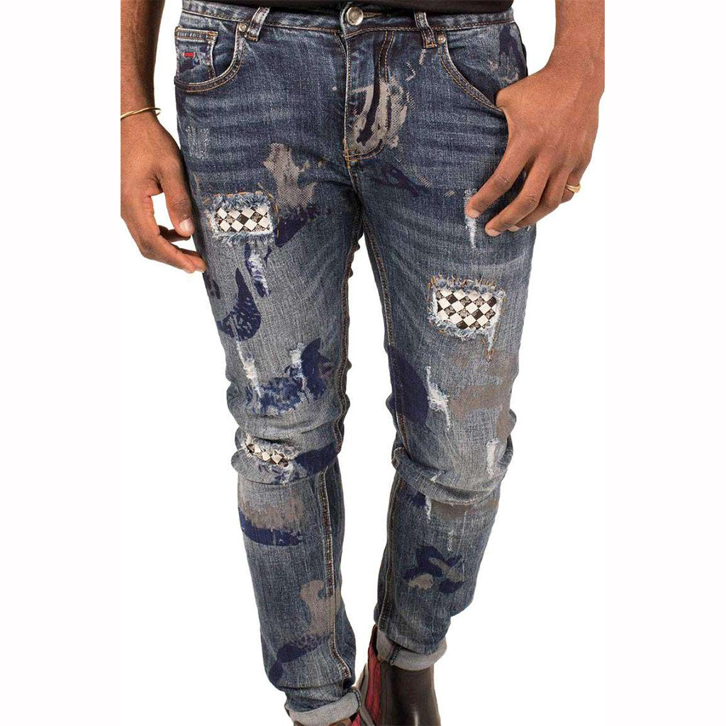 Bogart-Painted-Stretch-Denim-Jeans-Front-BMJ219