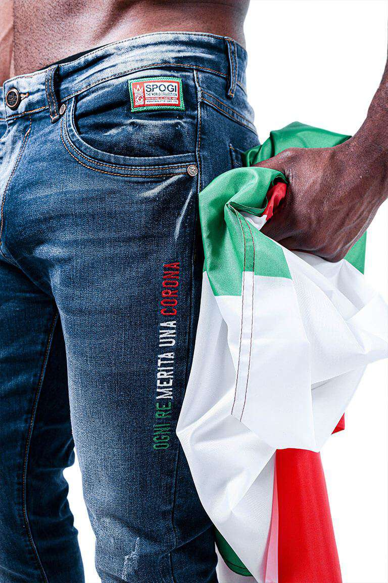 Italian SPOGI Denim