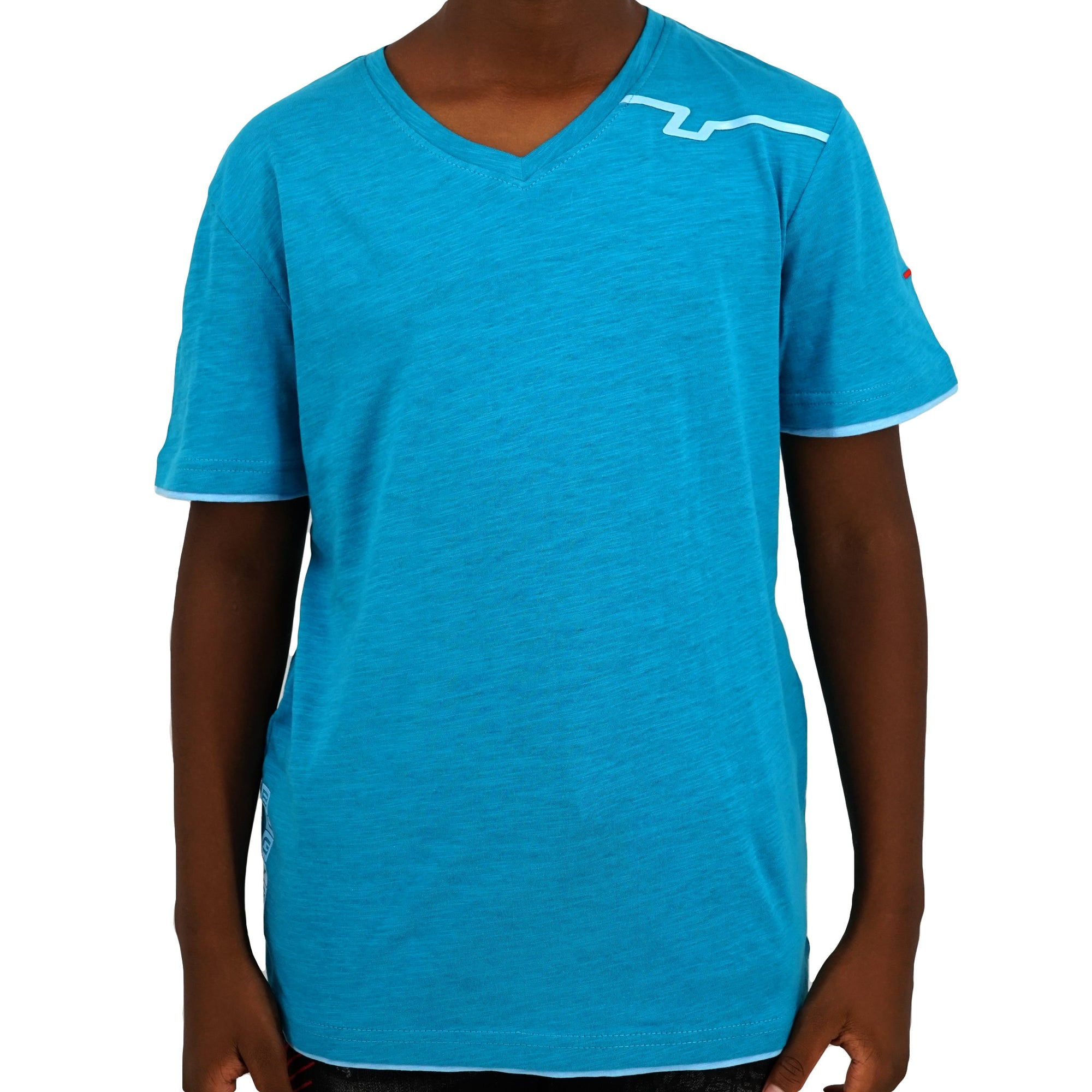 Signature V-Neck Cotton T-Shirt