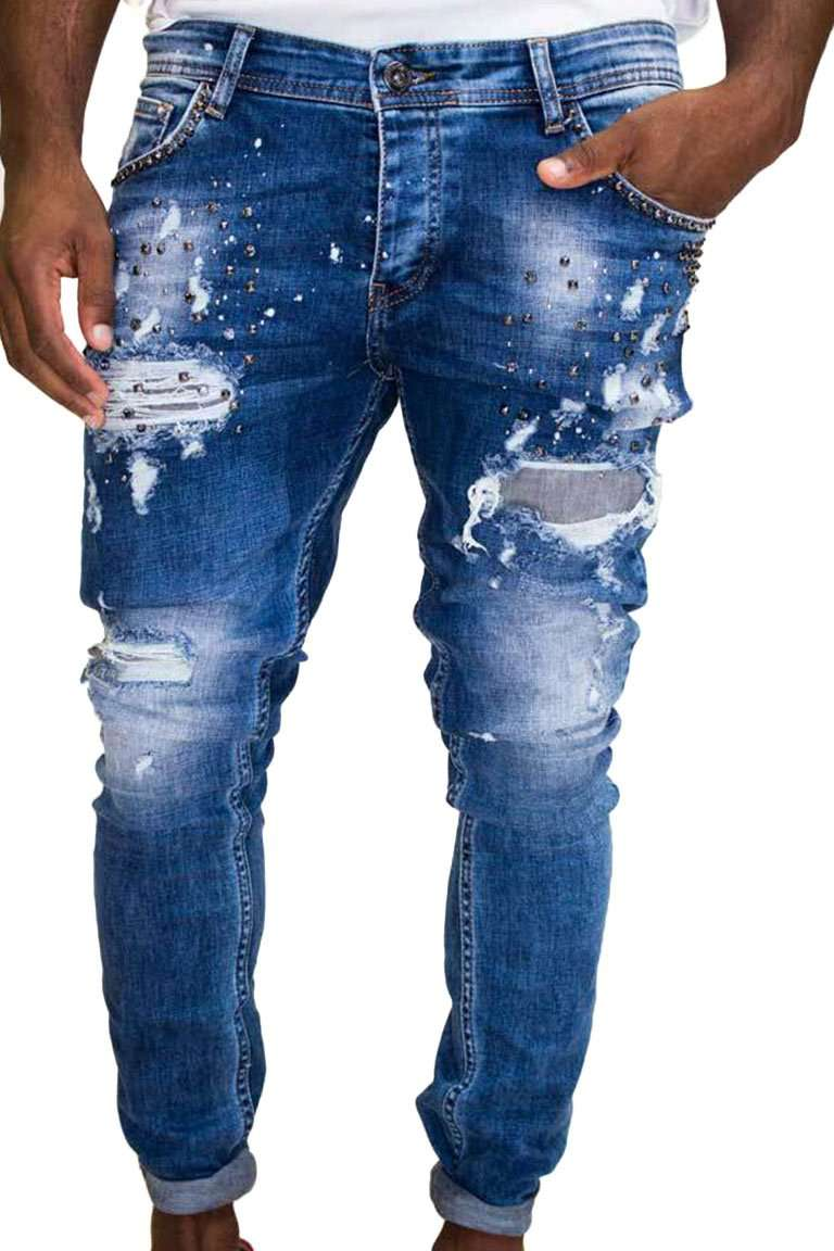Premium Blue-Ice Denim-front