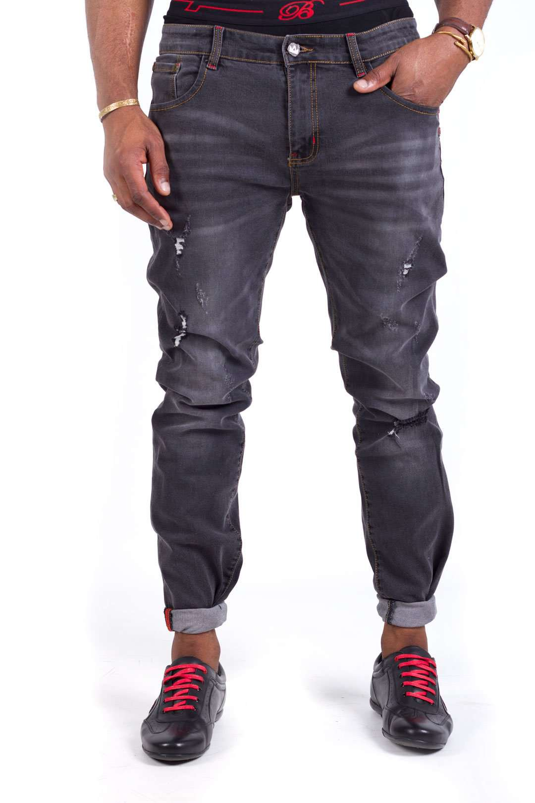 Red Stitch SPOGI Denim