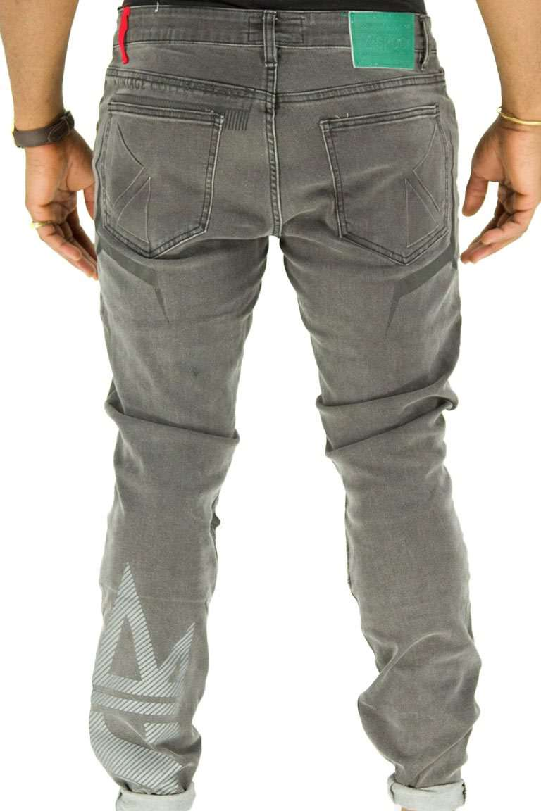 Grey Crowned SPOGI Denim