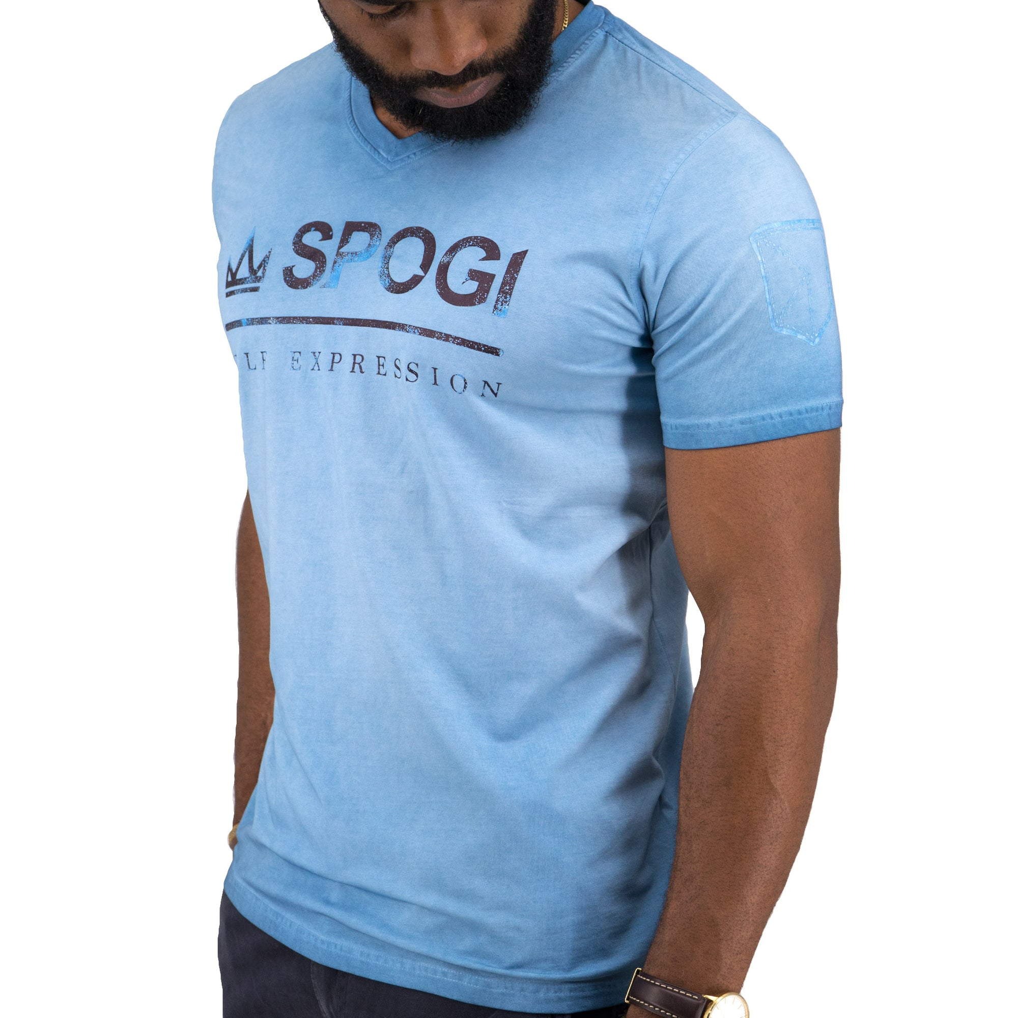 SPOGI Cotton Lycra T-Shirt