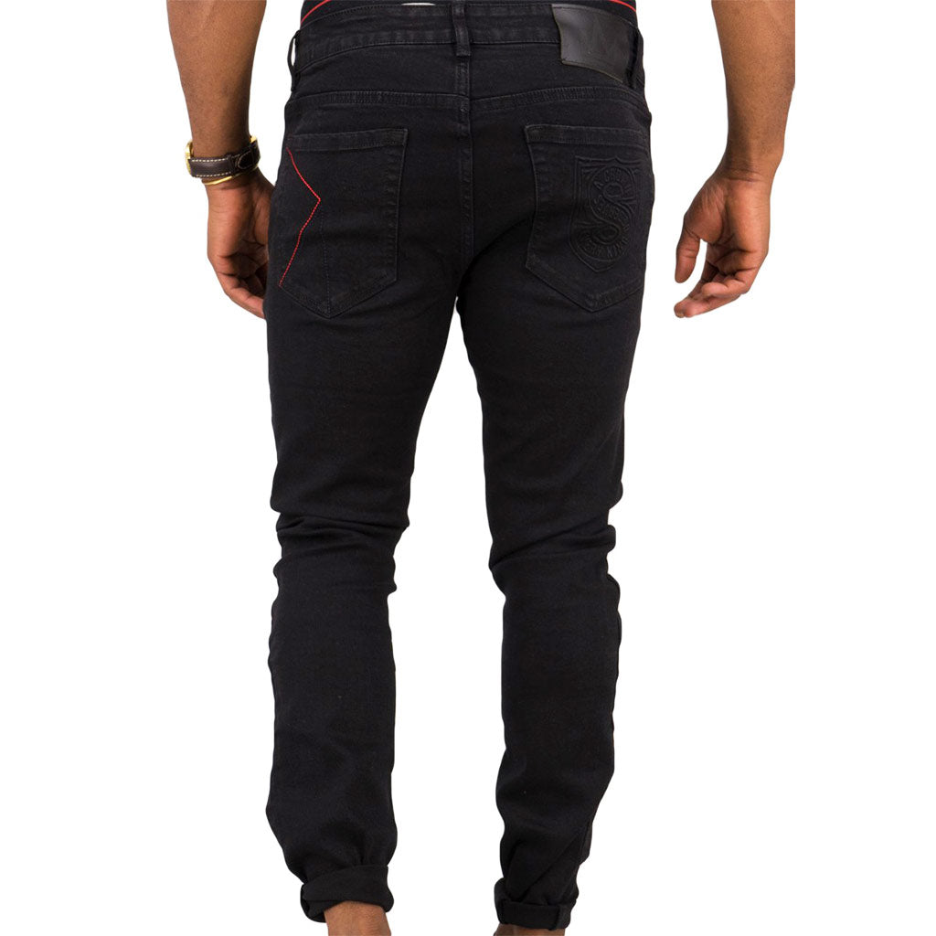 Spogi-Pitch-Black-Jeans-Front-SPJ154