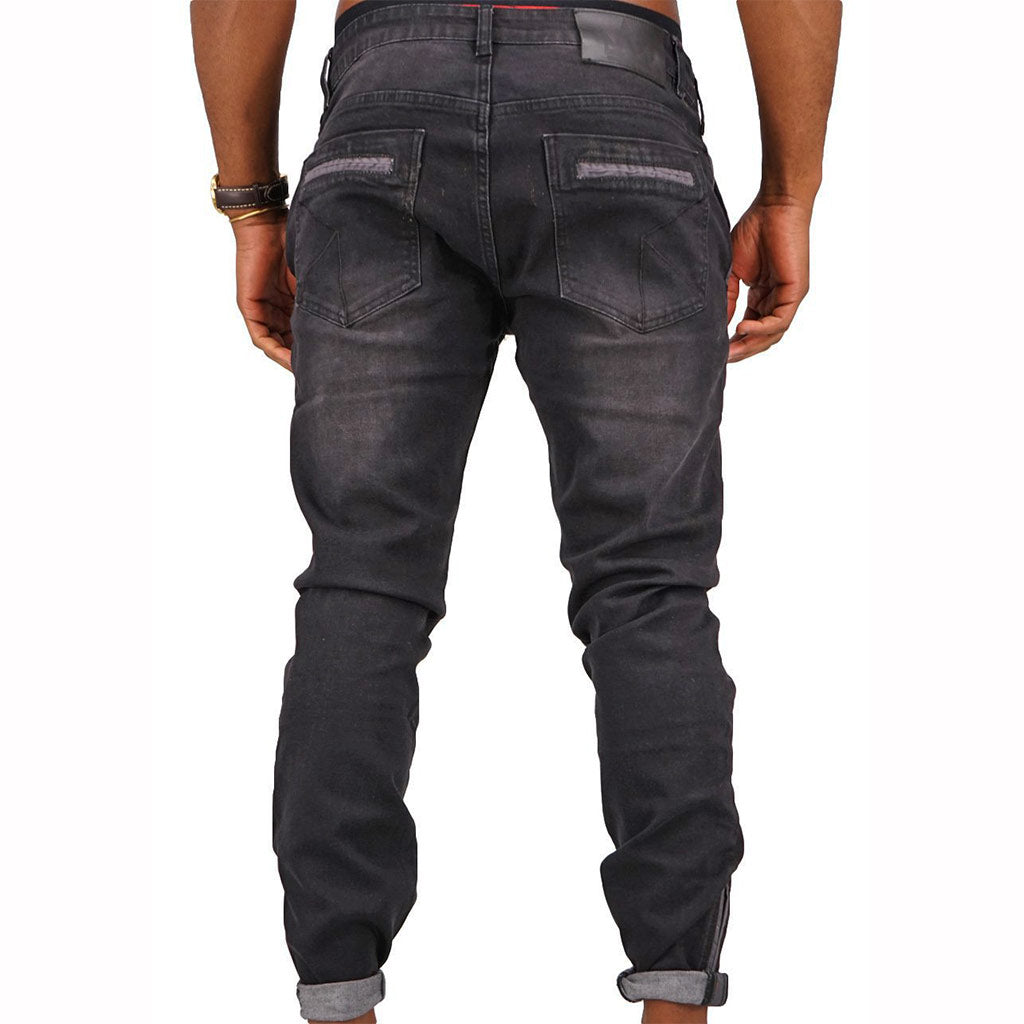 Spogi-Pocket-Edge-SPOGI-Jeans-Black-Front-SPJ150