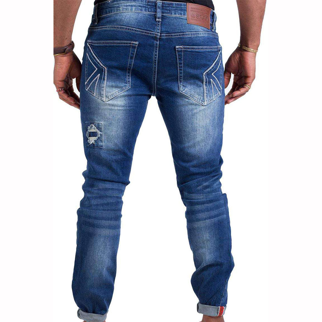 Spogi-Tear-and-Patch-SPOGI-Denim-Blue-Front-SPJ147