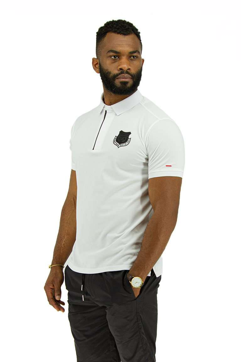 Zip-Up Golf T-Shirt