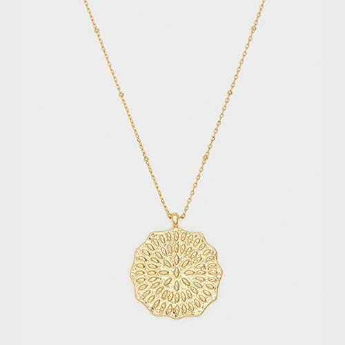Mosaic Coin Necklace