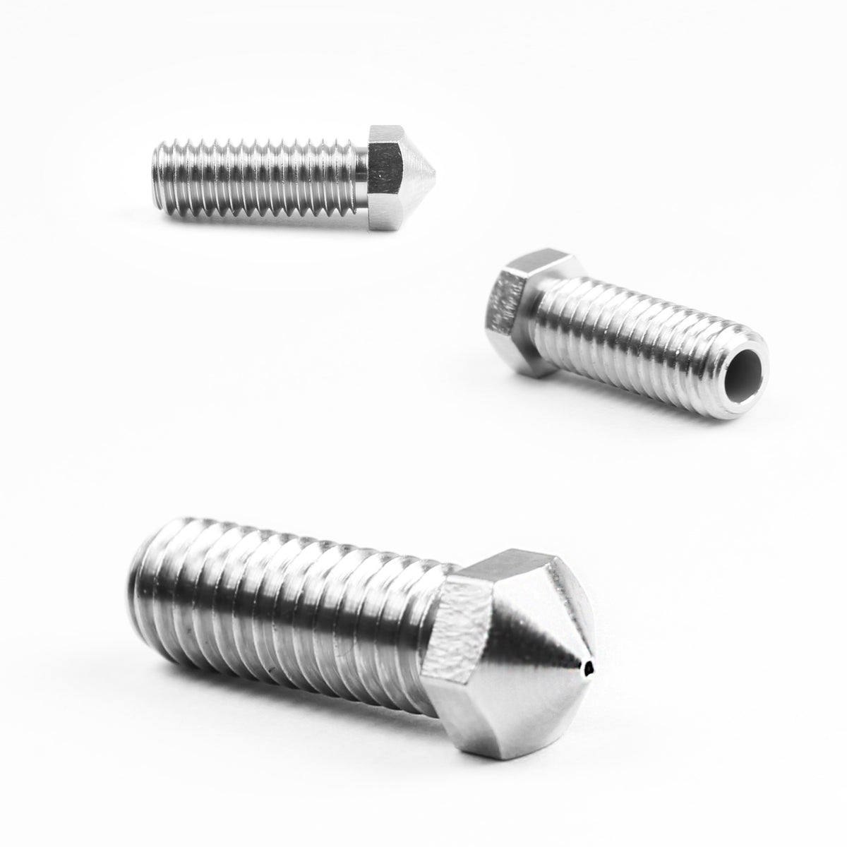Micro Swiss Plated Wear Resistant Nozzle for Volcano Hotend 3mm Filament