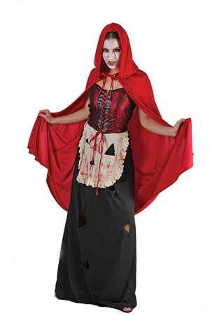 Wicked Red Ridinghood Costume