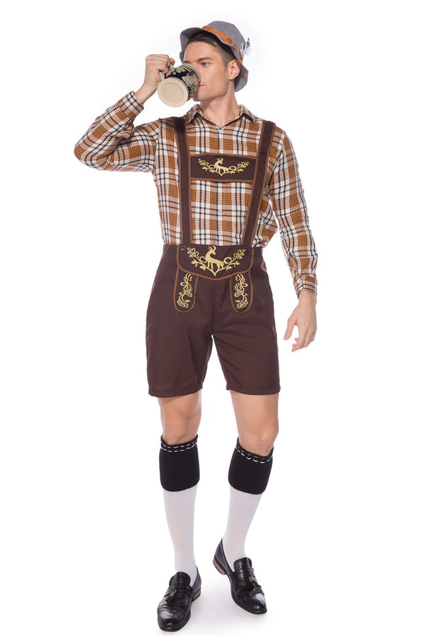German Beer Festival Men's Lederhosen