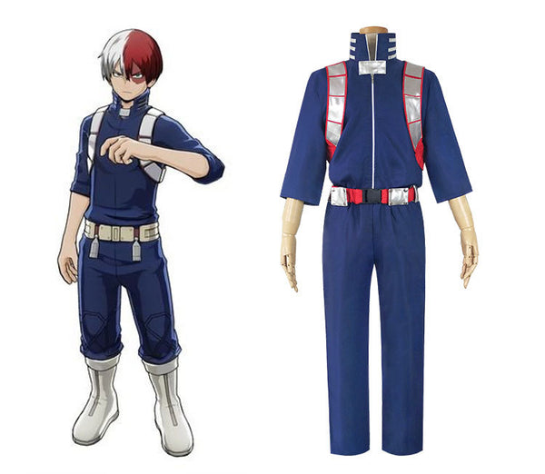 My Hero Academia Shoto Todoroki Hero Uniform