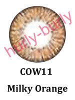 Milky Orange Natural Contact Lenses