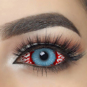 Bloodshot Infected Zombie Sclera Contact Lenses