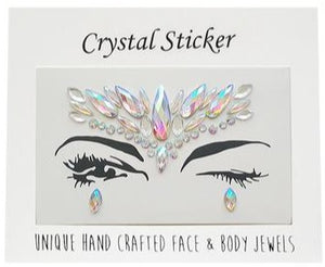 Pretty Pegasus Crystal Face & Body Jewels