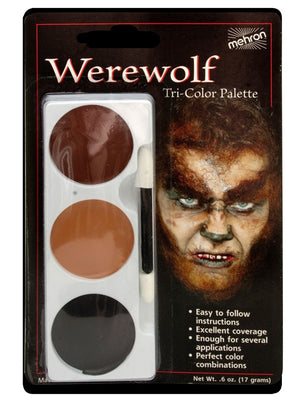 Tri-Colour Makeup Palette: Werewolf