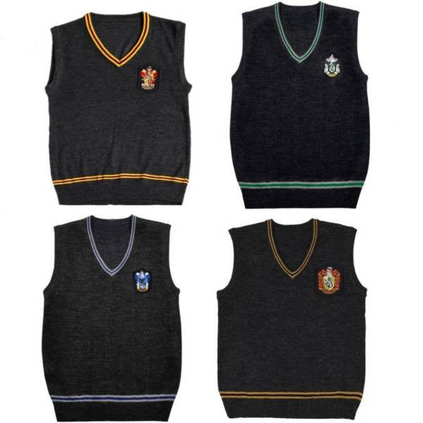 Harry Potter Knitted Vest Perth Hurly Burly
