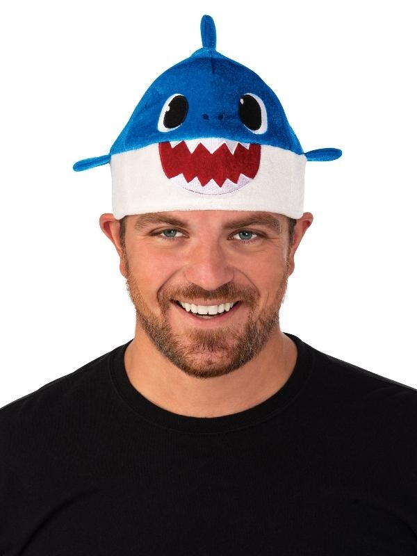 Blue Daddy Shark Hat