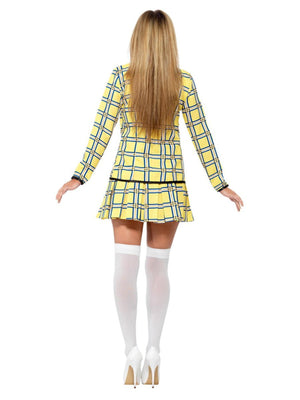 90's Clueless Yellow Tartan Costume