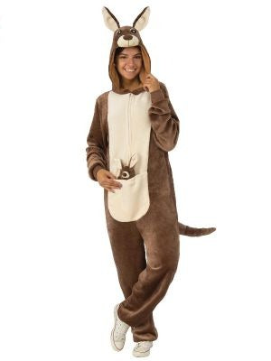 Adult Furry Kangaroo Onesie
