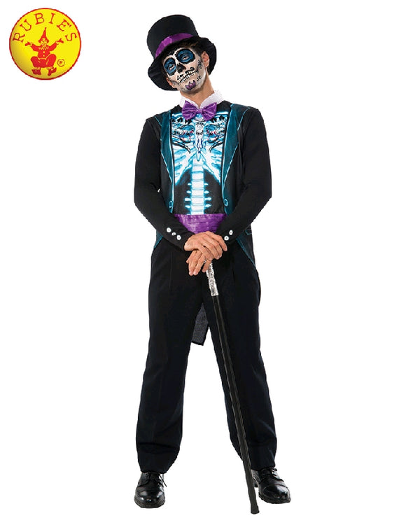 Men's Day of the Dead X-Rax Skeleton Suit