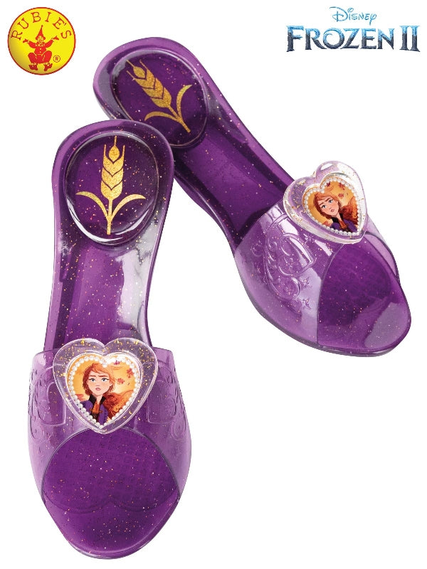 Frozen 2 Anna Kids Jelly Shoes