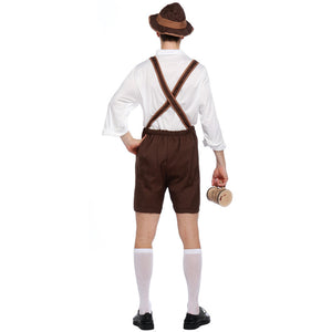 Classic Brown Beer Festival Costume