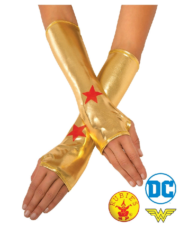 Gold Wonder Woman Gauntlets