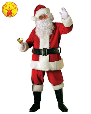 Premium Full Santa Suit and Accessory Kit