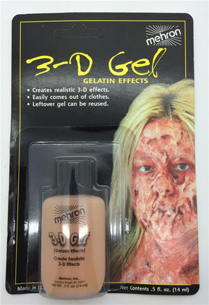 Mehron 3D Gelatin Effects: Flesh