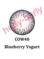 Blueberry Yogurt Natural Contact Lenses
