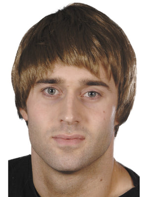 Short Brown Guy Wig