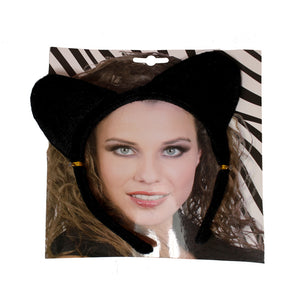 Black Cat Ears Headband