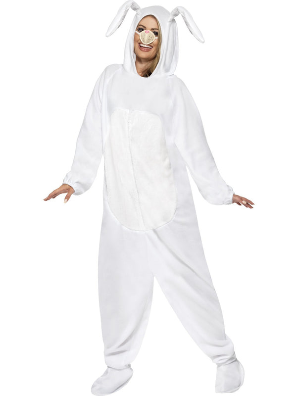 White Rabbit Jumpsuit Costume