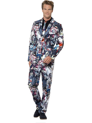 Zombie Print Stand Out Suit