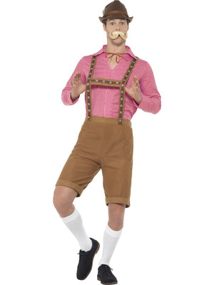 Men's Mr Bavarian Oktoberfest Lederhosen