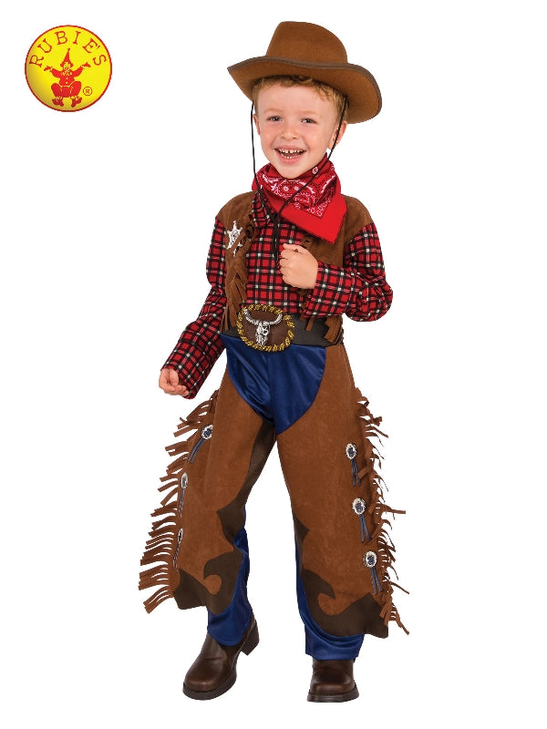Little Wrangler Kids Cowboy Costume