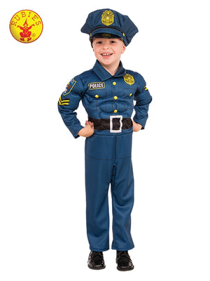 Top Cop Kids Policeman Costume