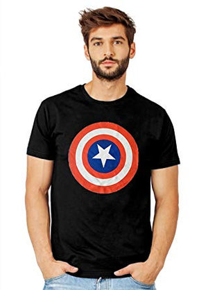 Black Captain America T-Shirt