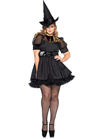 Bewitching Witch Costume Plus Size