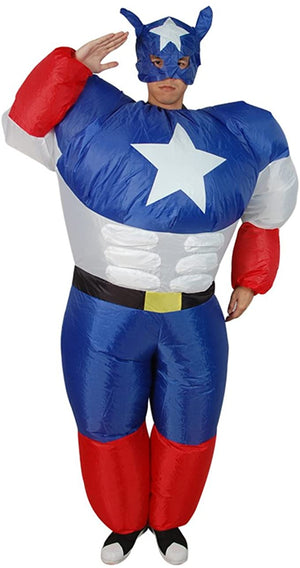Inflatable Captain America
