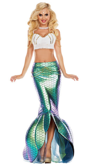 Two-Piece Mermaid Costume