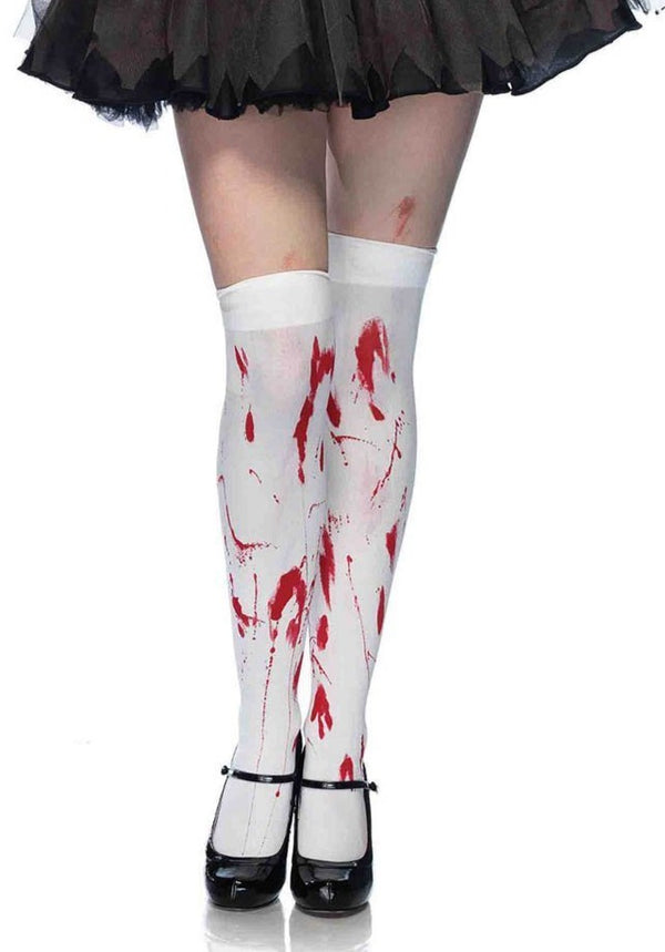 Blood Zombie Thigh Highs