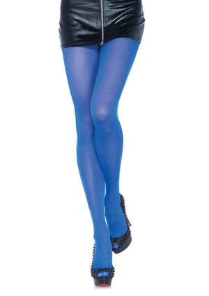 Royal Blue Pantyhose