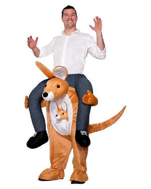 Carry Me: Kangaroo Ride On Costume