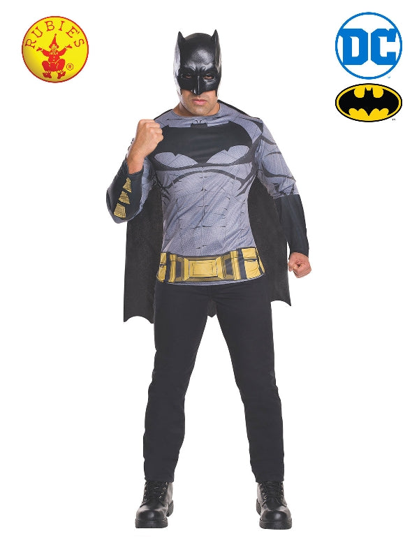 Batman Dawn Of Justice Costume Shirt And Mask