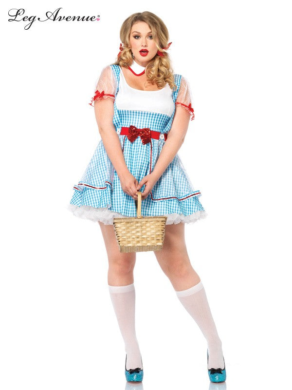 Leg Avenue Oz Dorothy Costume - Plus Size