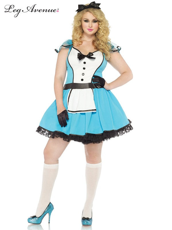 Leg Avenue: Storybook Alice Costume - Plus Size