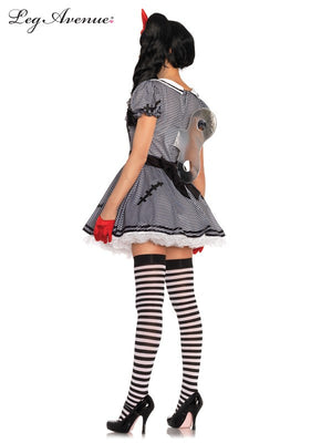 Leg Avenue: Wind-Me-Up Dolly Costume